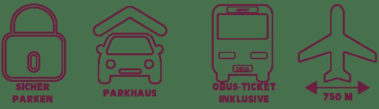günstiges Parkhaus am Flughafen Salzburg